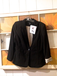 "41Hawthorn Toshi Contrast Detail Blazer (Initial thoughts: ""I am in love"") $88.00"