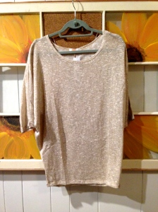 Renee C Jemdy Lurex Dolman Sleeve Top (Initial Thoughts: Ooo. Shiny.) $58.00