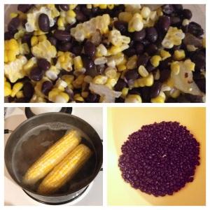 Black bean and sweet corn salad yum times