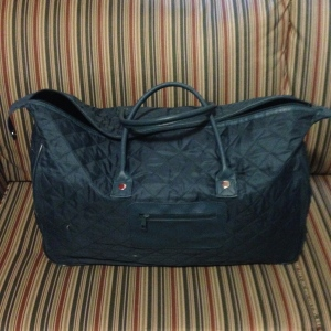My adorable bag all packed up and ready to go. Read on to see what I packed for my seven day trip!